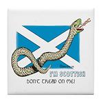 Tread Snake Tile Coaster