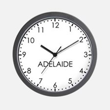 ADELAIDE Modern Newsroom Wall Clock
