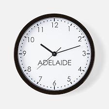 ADELAIDE Modern Newsroom Wall Clock