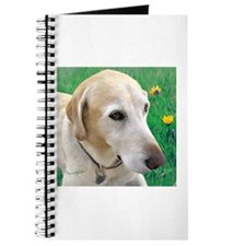 Yellow Lab in Meadow Journal