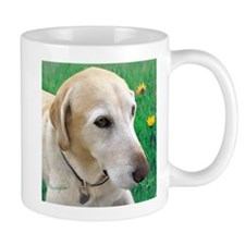 Yellow Lab in Meadow Mug