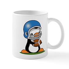 Grid Iron Penguin Mug