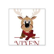 """Vixen Square Sticker 3"""" x 3"""""""