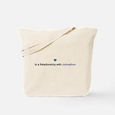 Johnathon Relationship Tote Bag