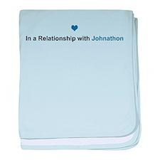 Johnathon Relationship baby blanket