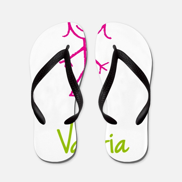Valeria-cute-stick-girl.png Flip Flops