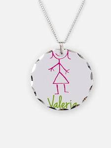 Valeria-cute-stick-girl.png Necklace