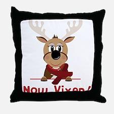 Now Vixen Throw Pillow