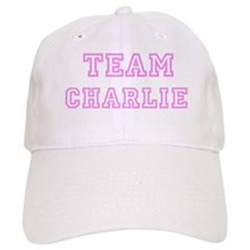 Pink team Charlie Baseball Cap