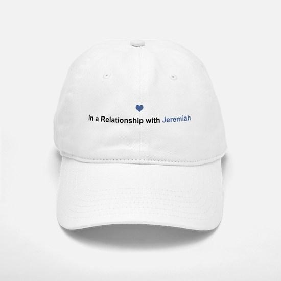 Jeremiah Relationship Baseball Baseball Cap