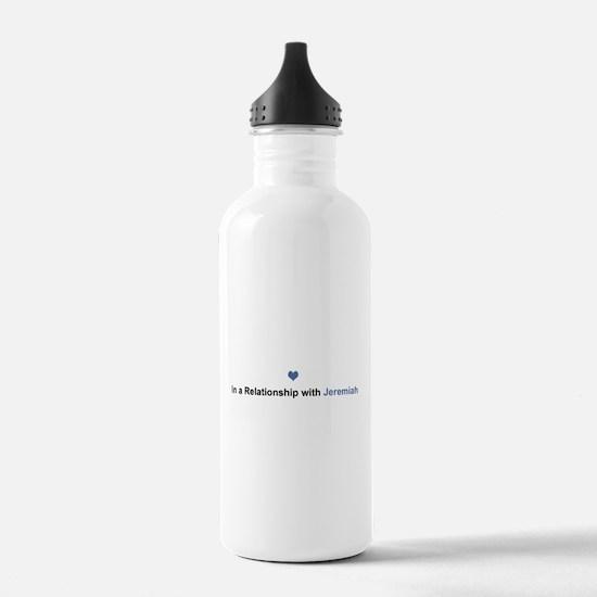 Jeremiah Relationship Water Bottle