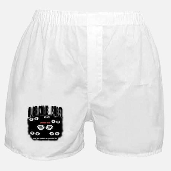 Isabel Blackout Boxer Shorts