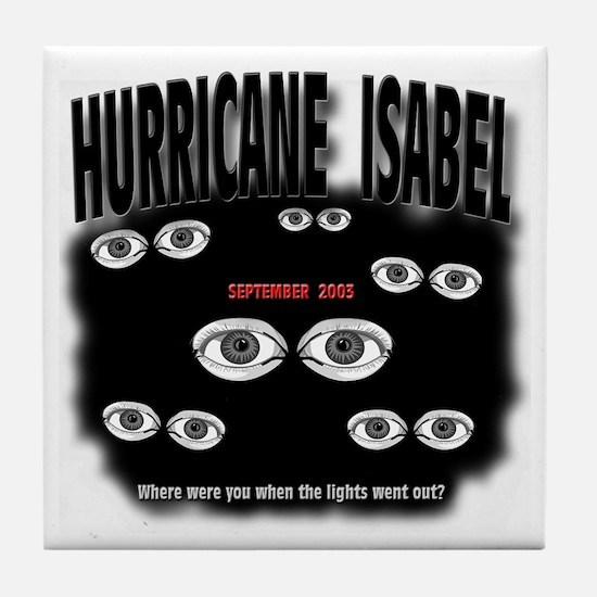 Isabel Blackout Tile Coaster
