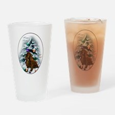 Field Spaniel Drinking Glass