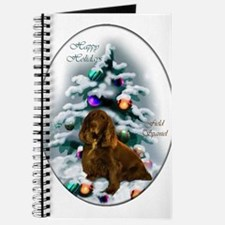 Field Spaniel Christmas Journal