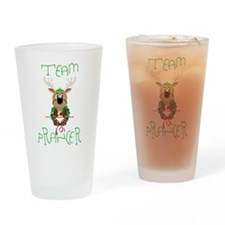 Team Prancer Drinking Glass