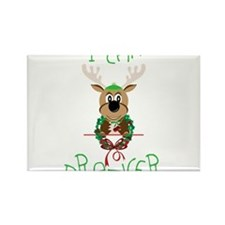 Team Prancer Rectangle Magnet