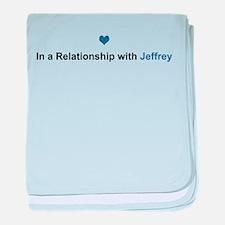 Jeffrey Relationship baby blanket