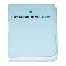 Jeffery Relationship baby blanket