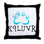 K9LUVR Throw Pillow