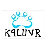 K9LUVR Postcards (Package of 8)