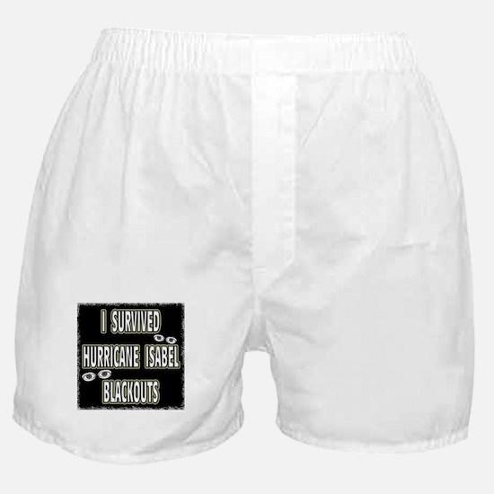 Isabel Blackouts Boxer Shorts