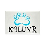 K9LUVR Rectangle Magnet (10 pack)