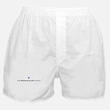 Jasmin Relationship Boxer Shorts