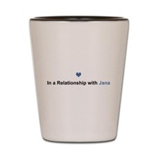 Jana Relationship Shot Glass