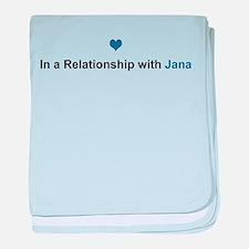Jana Relationship baby blanket