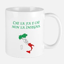 Italian Proverb Teach Mug