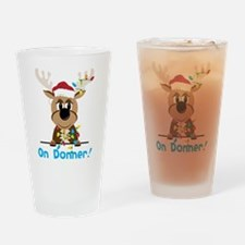 On Donner Drinking Glass