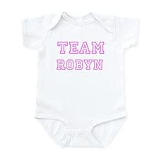 Pink team Robyn Infant Bodysuit