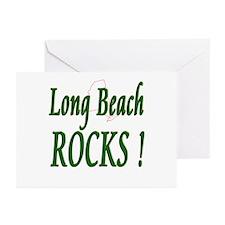 Long Beach Rocks ! Greeting Cards (Pk of 10)