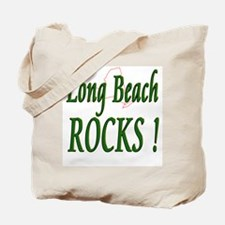 Long Beach Rocks ! Tote Bag
