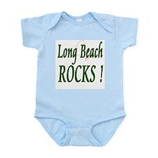 Long Beach Rocks ! Infant Bodysuit