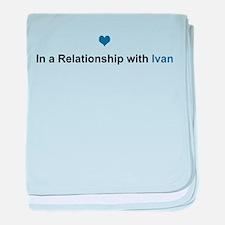Ivan Relationship baby blanket
