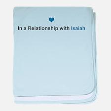 Isaiah Relationship baby blanket