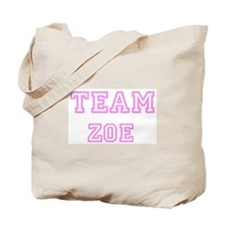 Pink team Zoe Tote Bag