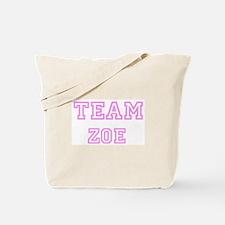 Pink team Zoe Tote Bag