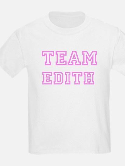 Pink team Edith Kids T-Shirt