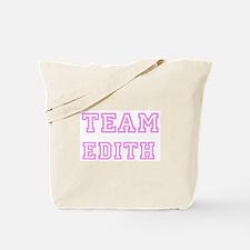 Pink team Edith Tote Bag