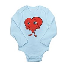 red heart Baby Suit