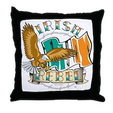 Irish Rebel Gear Ireland Throw Pillow