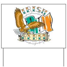 Irish Rebel Gear Ireland Yard Sign