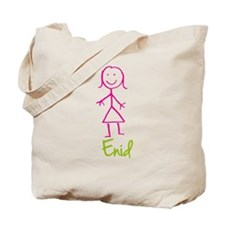 Enid-cute-stick-girl.png Tote Bag