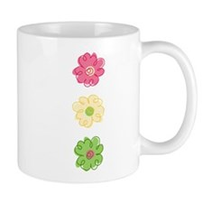 Colorful Flowers Mug