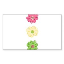 Colorful Flowers Decal