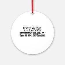 Team Kyndra Ornament (Round)