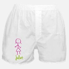 Juliet-cute-stick-girl.png Boxer Shorts